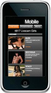 mobiler livesex